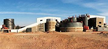 苏丹艾利特麦德700t/d金矿选矿项目