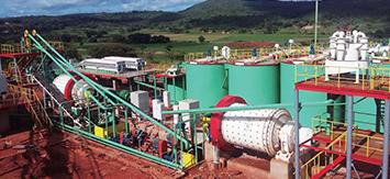 津巴布韦700t/d金矿选厂整体服务项目