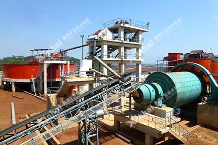 镍矿选矿工艺流程