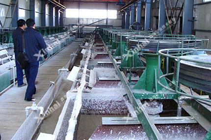 萤石矿浮选工艺流程