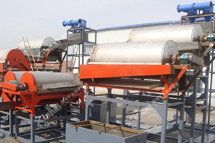 石英砂选矿生产流程