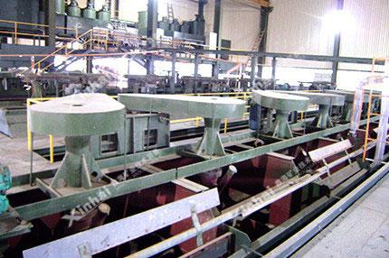 铜铅锌选矿处理工艺
