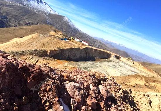 伊朗客户金矿项目地现场