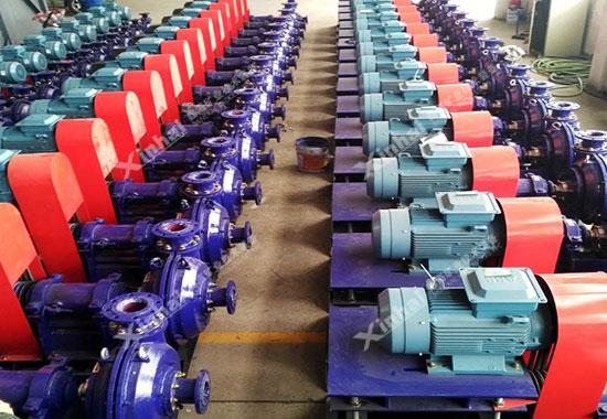 鑫海耐磨橡胶渣浆泵