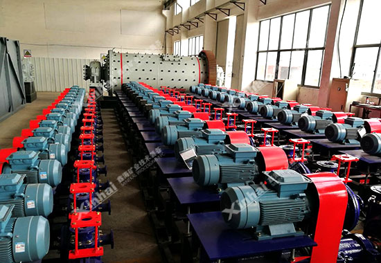 鑫海出口智利的XPA型耐磨渣浆泵