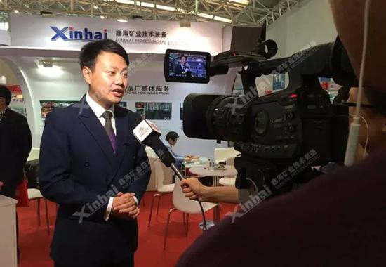 期间,张中一先生还向记者朋友分享了鑫海矿装近年来的成功转型升级的经验。