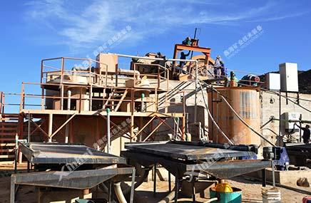 砂金矿选矿设备摇床