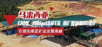 马来西亚CNMC 500t/d金矿CIL矿山全产业链服务项目
