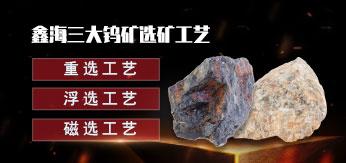 鑫海三大钨矿选矿工艺