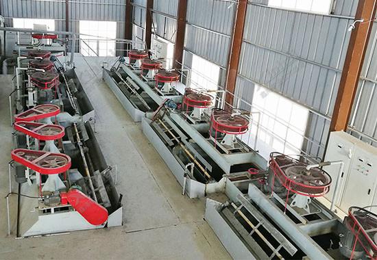 摩洛哥500tpd银矿浮选项目