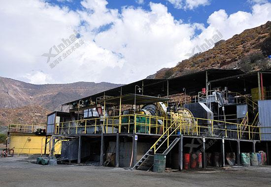 智利700tpd铜矿选厂项目案例